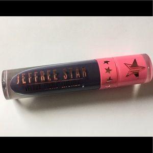 "Jeffree Star ""Abused"" Dark Blue Liquid Lipstick"
